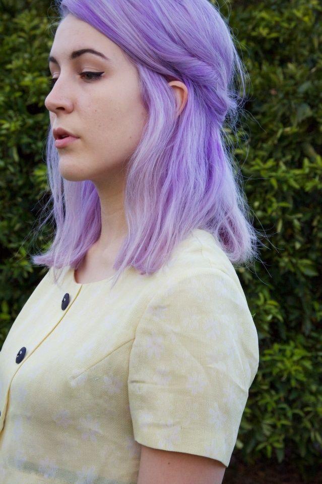 sixties casual hair and makeup