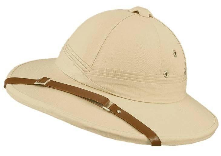 Deluxe Safari Pith Helmet