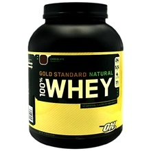 Protein - Gold Standard Natural 100% Whey Protein Supplement Powder, Chocolate (Whey protein isolates are among the purest forms of whey proteins. Ideal for women, especially busy moms, like me.) #ScavengerHuntSweeps