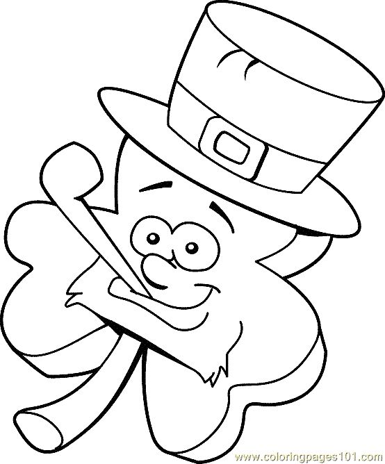 printable coloring pages st patricks - photo#13
