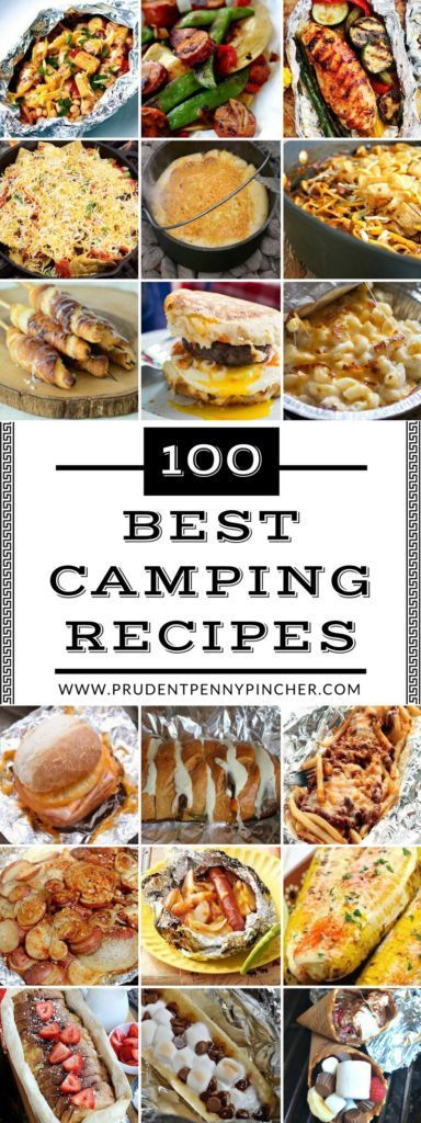 100 simple and frugal dinners – camping dishes – #Camping #Dinners #ea …..   – Foil Pack Dinner Recipe