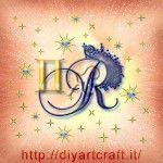 Segno zodiacale gemelli maiuscola R tattoo diyartcraft