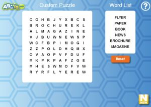 14 Places to Create Your Own Free Word Search Puzzles: ABCya! Free Word Search Maker