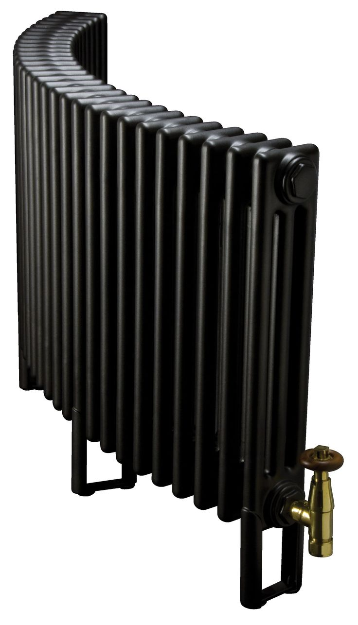 Curved column radiators, great for bay windows.  Bespoke radiators from Simply Radiators.