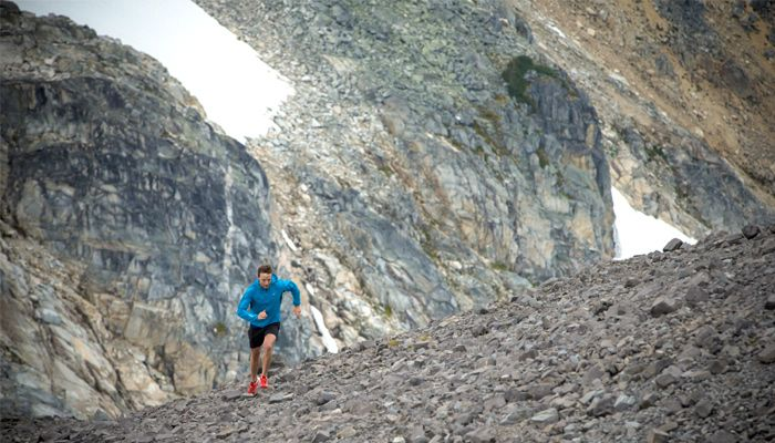 Arc'teryx athlete Adam Campbell trail running in Whistler... One day maybe this will be me