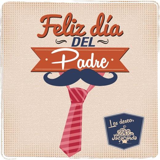 Feliz Día del Padre 2013, les desea Jacaranda. #HappyFather'sDay