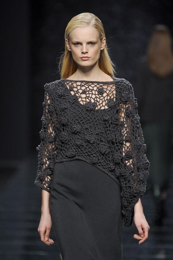 Anteprima at Milan Fashion Week Fall 2012 - Crochet