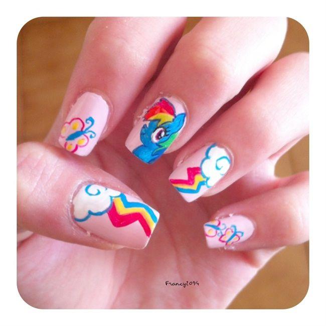179 mejores imágenes de Nails: Girly Girl en Pinterest   Chica ...