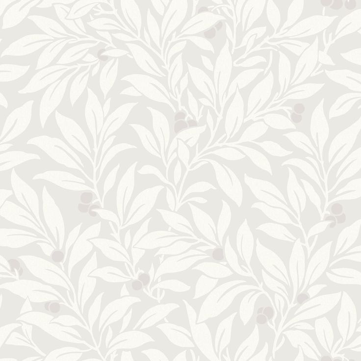 Fine Décor Mulberry Soft Grey Floral Wallpaper | Departments | DIY at B&Q