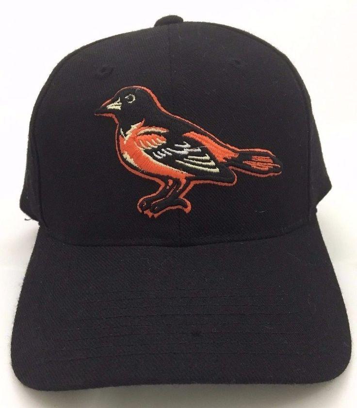 Baltimore Orioles Baseball Cap Hat Black Wool MLB Authorized Grossman Cap Co  #GrossmanCapCo #BaltimoreOrioles