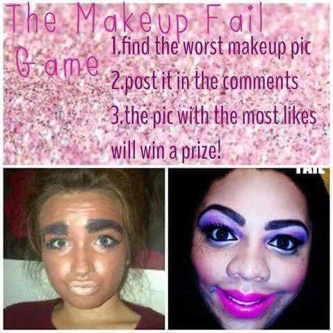 Ugly make up game for younique                                                                                                                                                                                 More