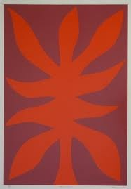 """John COBURN """"Flame Tree""""...why not? red is such a hungry colour. perfect for our attempt at a reno."""