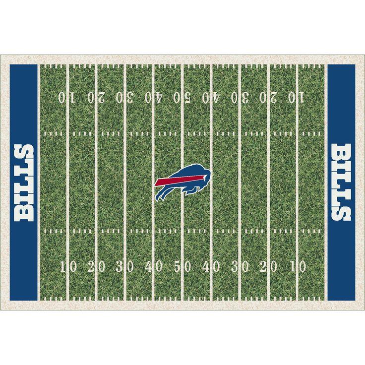 NFL Homefield Buffalo Bills Football Rug - 533321-1012 By Milliken