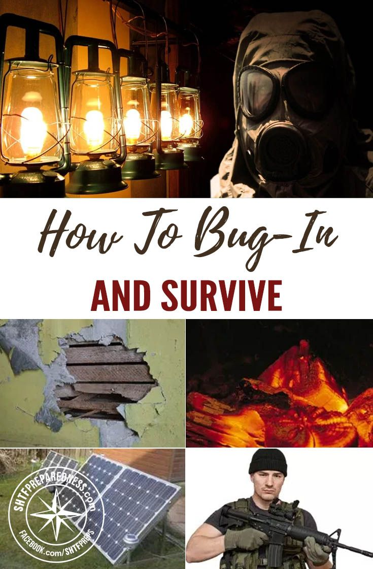 How To Bug-in and Survive — During a bugging in or hunkering down scenario a person will stay at home and will do everything necessary to survive a crisis. If you have everything you need in your home in order to ride out the storm, there is no need to go outside and test your chances on the road.