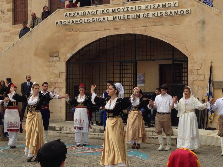 25 March in Kasteli