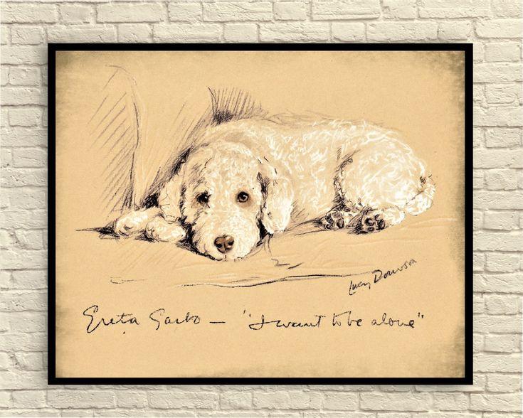 Lucy Dawson Dog Print, Vintage Dog Print, Dog Print, Antique  Dog Prints, Dog Illustration, 1930's Lucy Dawson Dogs, Dog Wall Art by CreativeArtandInk on Etsy https://www.etsy.com/listing/529423650/lucy-dawson-dog-print-vintage-dog-print