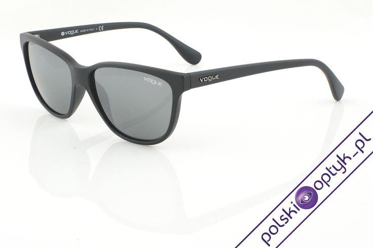Okulary przeciwsłoneczne damskie Vogue VO 2729-S W44/6G #okulary #glasses #eyewear #eyeglasses #oprawki #sunglasses #vogue