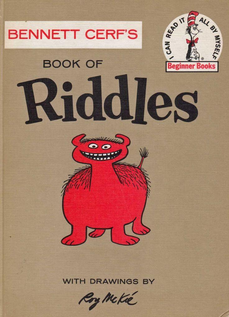 Vintage Kids' Books My Kid Loves: Bennett Cerf's Book of Riddles