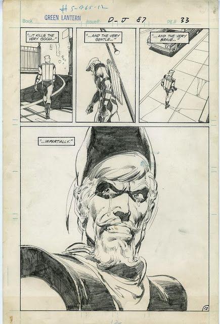 Green Lantern & Green Arrow - original art by Neal Adams