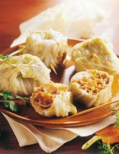 Involtini di cavolo cinese - Tutte le ricette dalla A alla Z - Cucina Naturale - Ricette, Menu, Diete