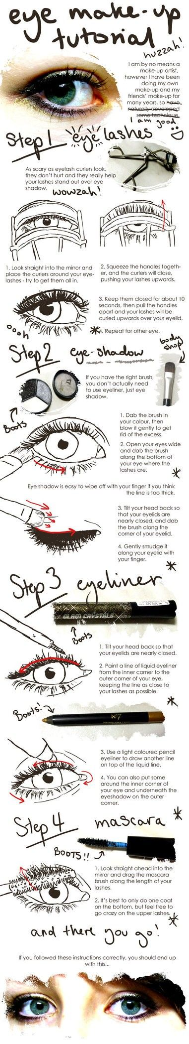 Great Tips for Eye Make-up