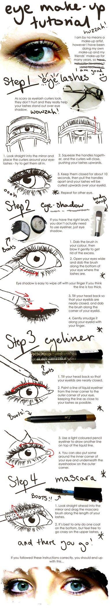 : Make Up Tutorial, Beauty Tips, Eye Tutorial, Makeup Beauty, Eyemakeup, Eye Make Up, Hair, Eye Makeup Tutorials