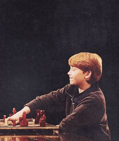 Ron Weasley, the King of Wizard's Chess