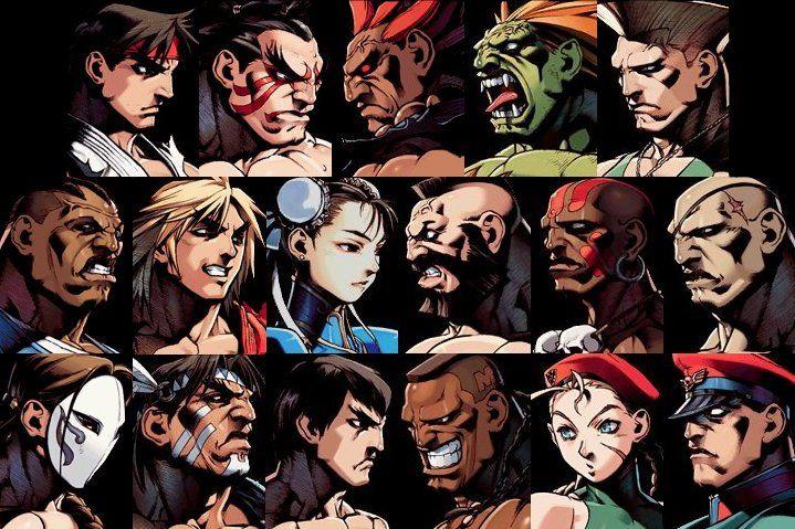 STREET FIGHTER!!! BEST GAME EVER!!!!