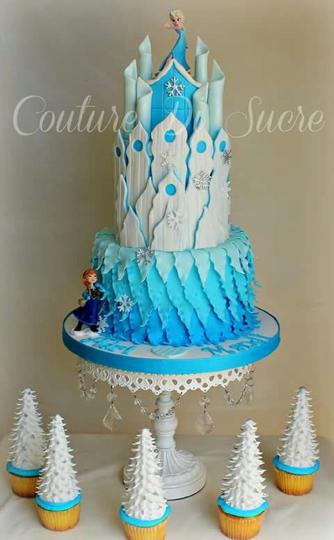1521 best Disneys Frozen Cakes images on Pinterest Birthday cakes