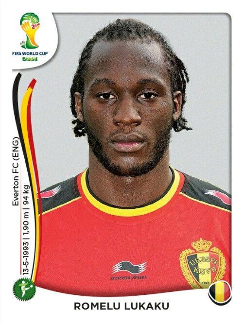 581 Romelu Lukaku - Bélgica - MUNDIAL BRASIL 2014