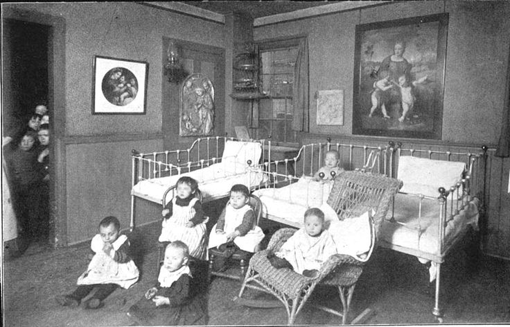 Hull-House Nursery, ca. 1890s
