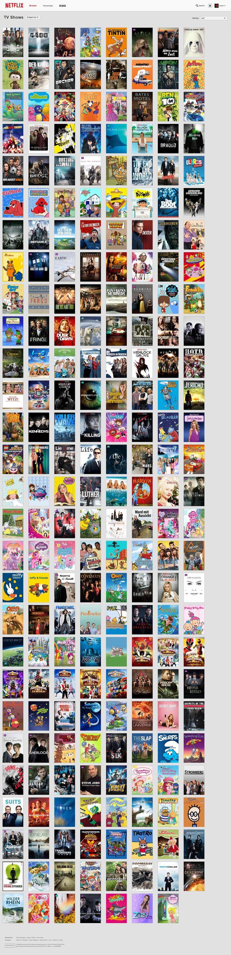 Infografik zum Angebot von Netflix Deutschland - Imgur