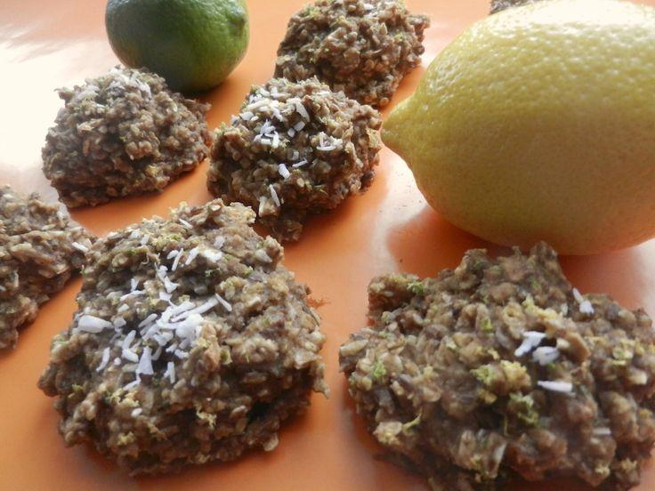Madame Labriski - Ces galettes dont tout le monde parle - : La CANARI DES ÎLES (avoine, citron, lime et noix d...