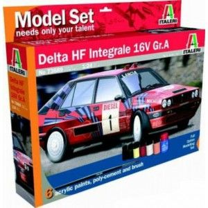 Lancia Delta HF Integrale - Model Set - 1:24