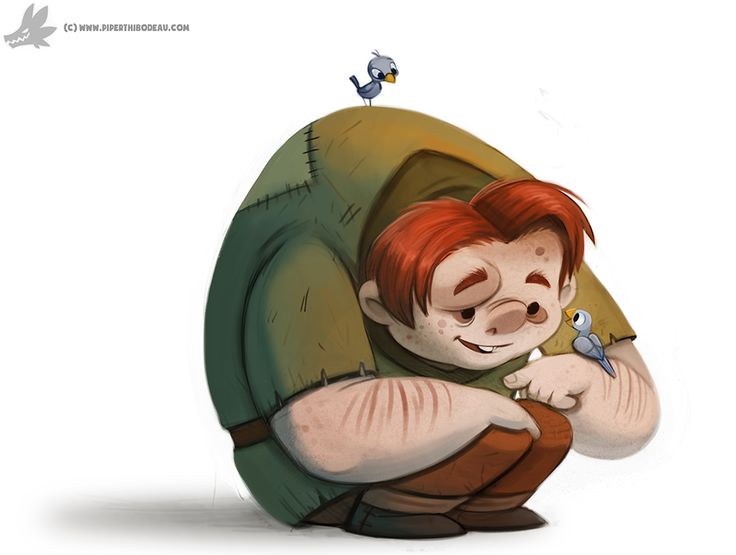 Daily Painting 874. Quasimodo by Cryptid-Creations