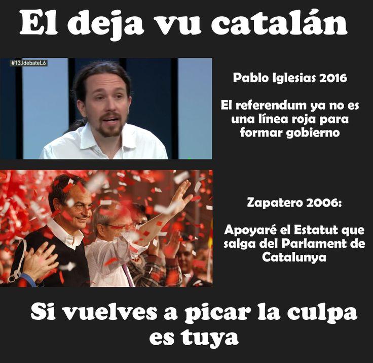 El dejá vu catalán