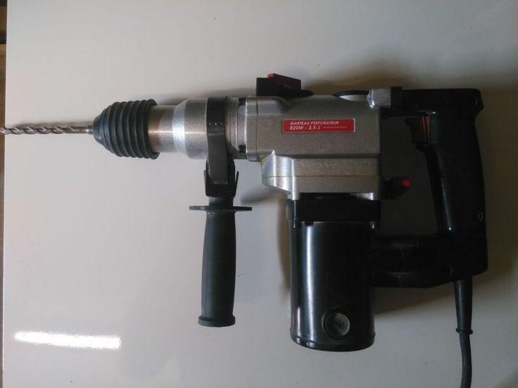 Perceuse, perforateur et burineurForets SDS820W  3.5JBon état général