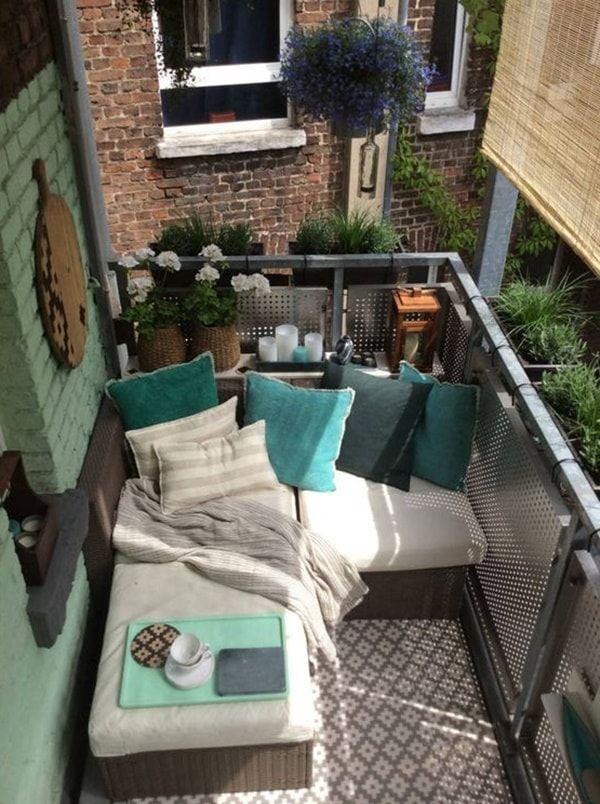 Ideas Para Balcones Coloridos Diseño De Terraza