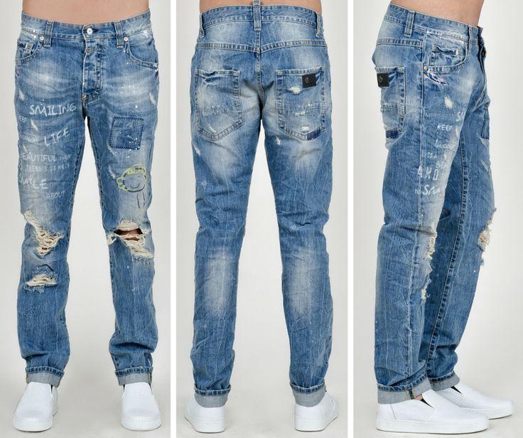 SEVEN 7 Denim - Ανδρικό παντελόνι τζιν, με διάφορα σχέδια.  #Hip #Hipyourtshirts #Hipyourstyle #Style #New #Womens #Mens #Fashion #7Denim #SevenDenim #Denim #Jeans #AW15 #Collection #Exclusive #Rhodes #Greece