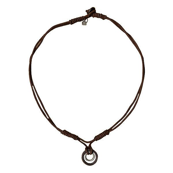 BKE Aylward Necklace ($7.96) ❤ liked on Polyvore featuring men's fashion, men's jewelry, men's necklaces, necklaces, jewelry, men, mens pendant necklace, mens leather necklace, mens pendants and mens necklaces