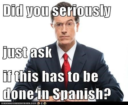 """Does this have to be done in Spanish?"" #learn #spanish #kids"
