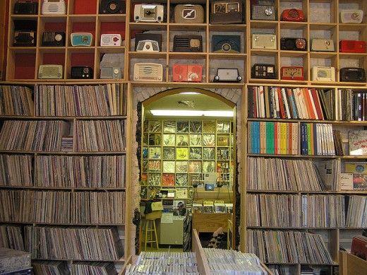 2manydjs record room decor