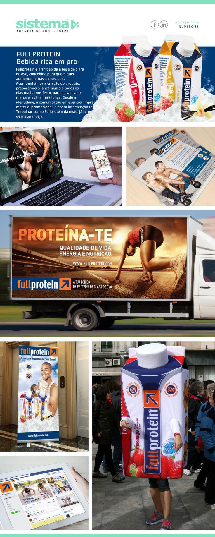 Agosto 2016 - Fullprotein - www.sistema4.pt - sistema4 - Agência de Publicidade