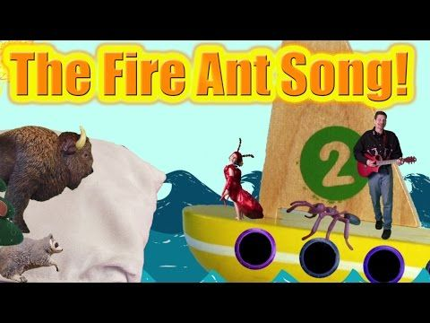 The Fire Ant Song about Invasive Non-Native Species, introduced species - YouTube