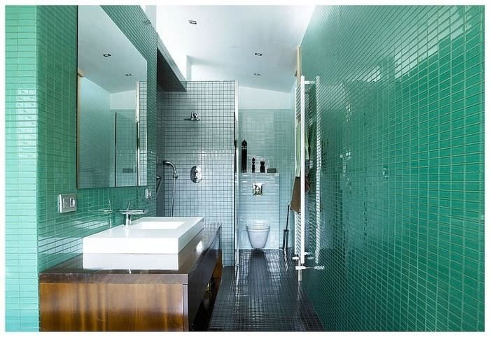 38 best images about salle de bain on pinterest bathrooms decor turquoise and showers. Black Bedroom Furniture Sets. Home Design Ideas