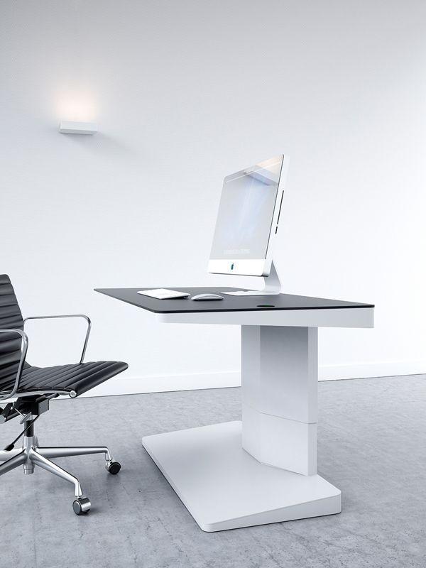 Gorgeous Office Workspaces Arrangement for Simple Room