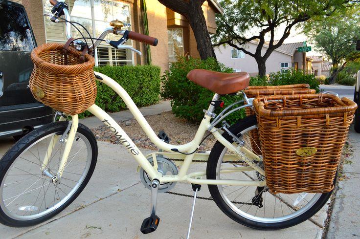 My new bike: an Electra Townie 7D with Nantucket Bike Baskets - rear baskets yes?