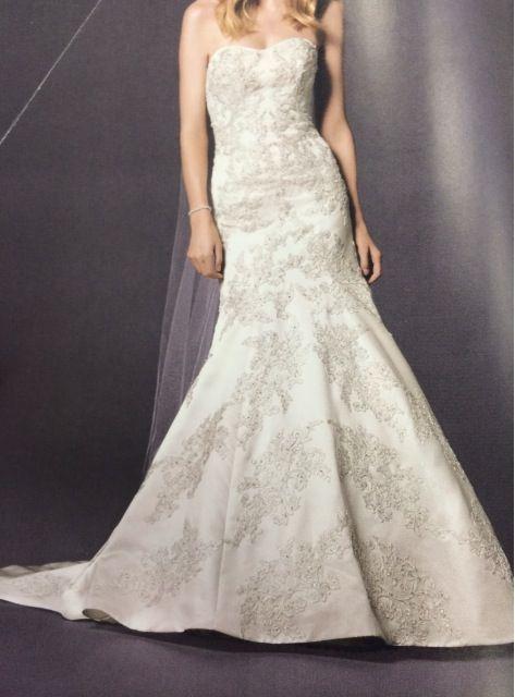 ¡Nuevo vestido publicado!  David´s Bridal – T4-6 ¡por sólo $25000! ¡Ahorra un 44%!   http://www.weddalia.com/mx/tienda-vender-vestido-de-novia/david%c2%b4s-bridal-t4-6/ #VestidosDeNovia vía www.weddalia.com/mx