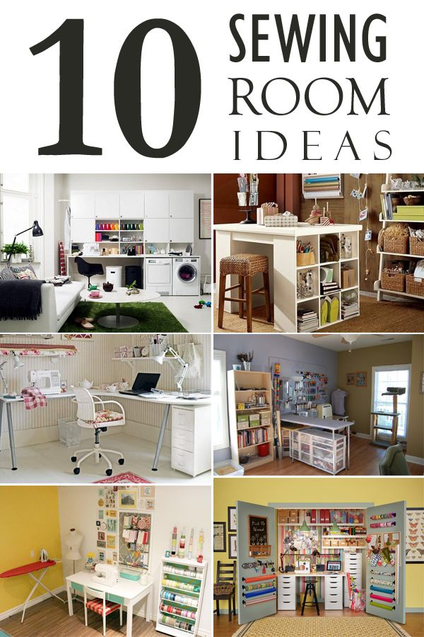 10 Creative Sewing Room Ideas On A Budget Sewing Rooms