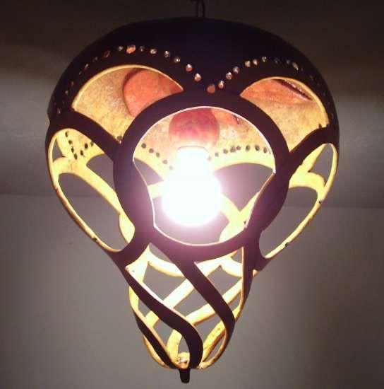 Lámpara de calabaza
